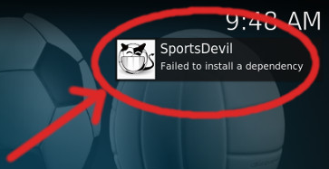 [SOLVED] Failed To Install a Dependency Error in Kodi