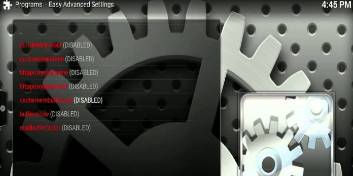 Kodi-easy-advanced-settings