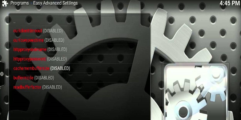 Easy Advanced Settings Kodi 17 Krypton Addon Installation