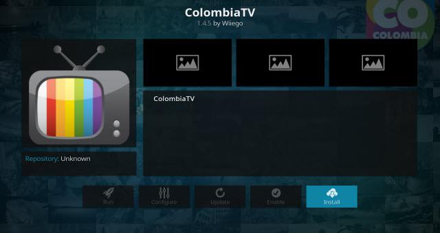 colombia tv addon kodi