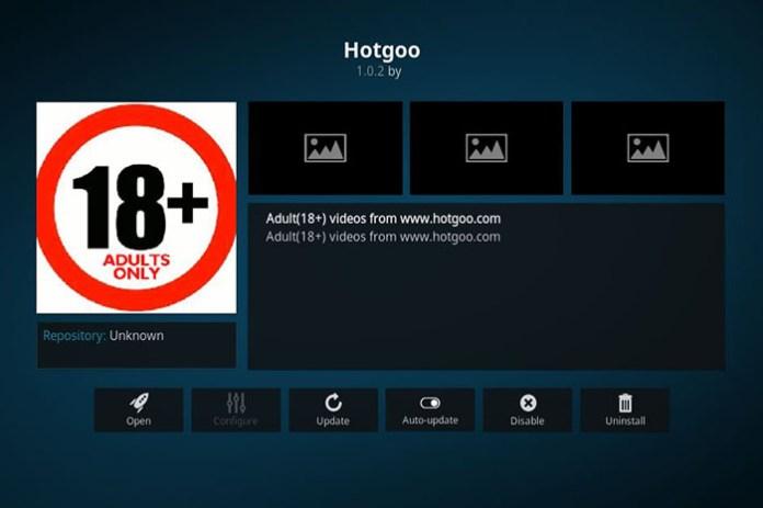 hotgoo best kodi adult addons