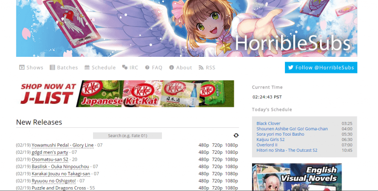 top anime torrenting sites 2018